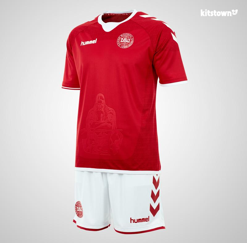 丹麦国家队2016-17赛季主客场球衣 © kitstown.com 球衫堂