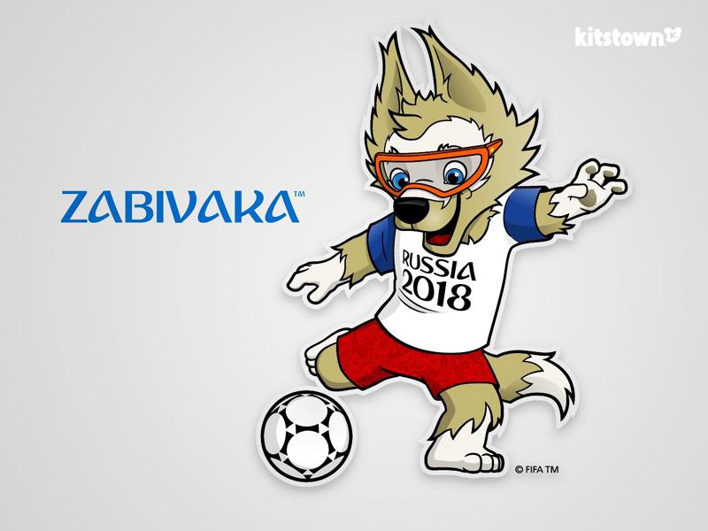 Zabivaka—2018年俄罗斯世界杯官方吉祥物 © kitstown.com 球衫堂
