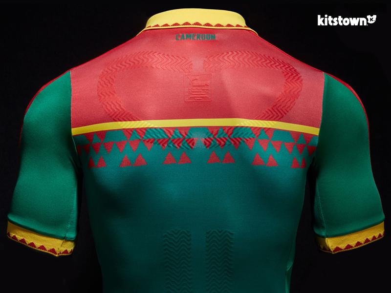 喀麦隆国家队2017年非洲国家杯主场球衣 © kitstown.com 球衫堂