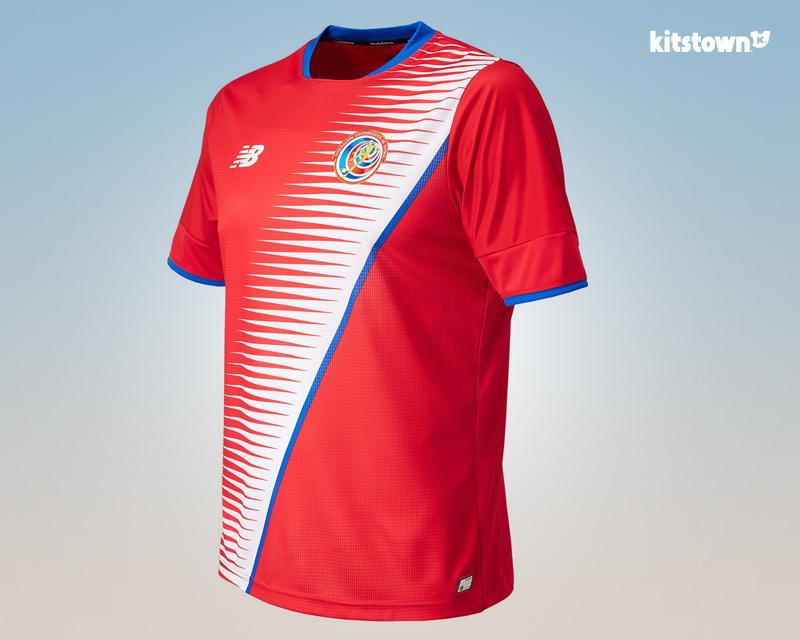 哥斯达黎加国家队2016-17赛季主客场球衣 © kitstown.com 球衫堂