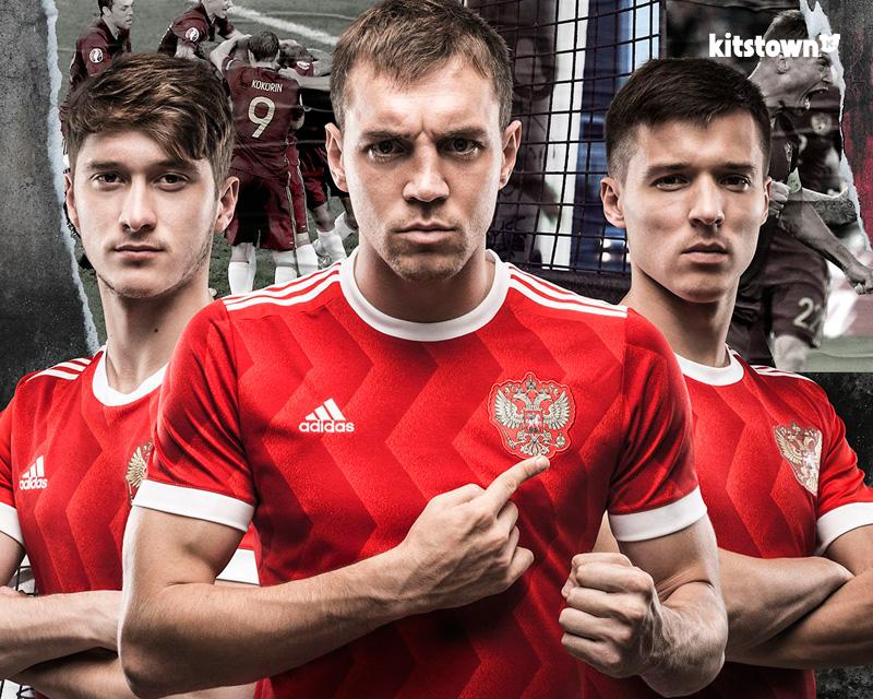 俄罗斯国家队2017联合会杯主场球衣 © kitstown.com 球衫堂