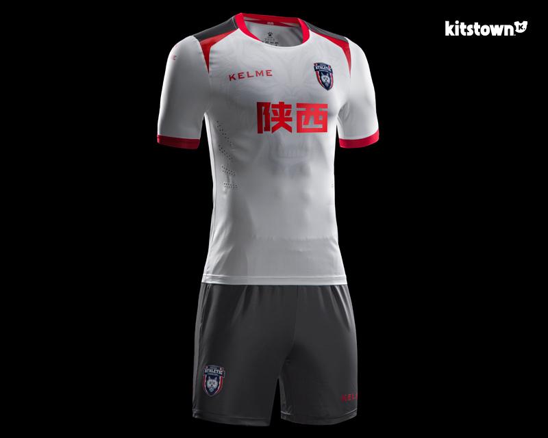 陕西长安竞技2017赛季主客场球衣 © kitstown.com 球衫堂