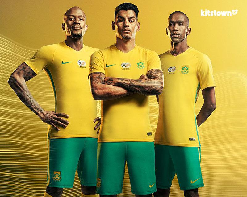 南非国家队2016-17赛季主客场球衣 © kitstown.com 球衫堂