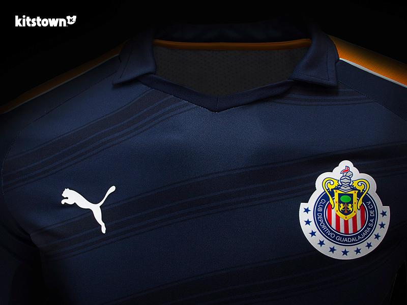 瓜达拉哈拉2017赛季第二客场球衣 © kitstown.com 球衫堂