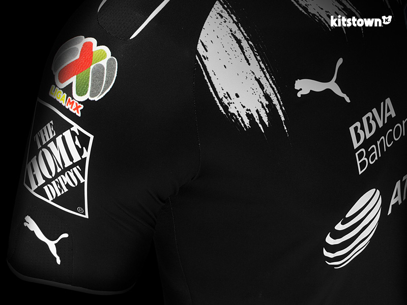 蒙特雷2017赛季第二客场球衣 © kitstown.com 球衫堂