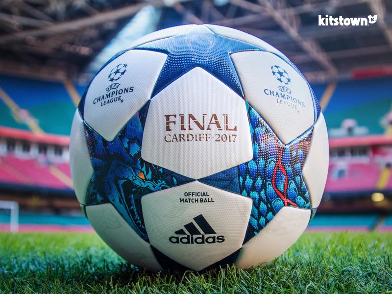 决战加的夫—2017欧冠联赛淘汰赛阶段官方比赛用球 © kitstown.com 球衫堂