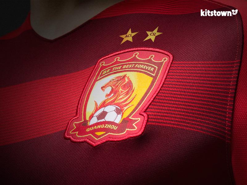 广州恒大2017赛季主场球衣 © kitstown.com 球衫堂
