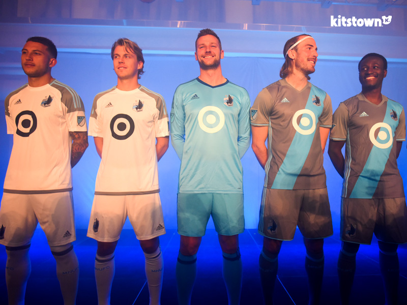 明尼苏达联2017赛季主客场球衣 © kitstown.com 球衫堂