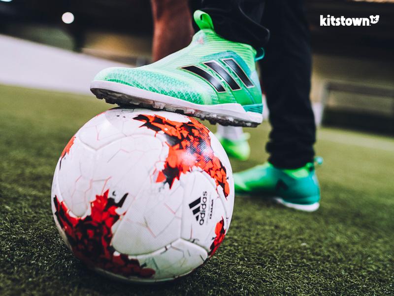 阿迪达斯推出绿色狂噪系列ACE 17+ PURECONTROL FG战靴 © kitstown.com 球衫堂