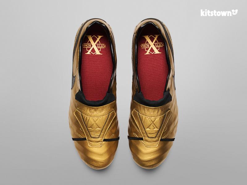 耐克推出限量款TIEMPO TOTTI X ROMA战靴纪念托蒂职业生涯25周年 © kitstown.com 球衫堂