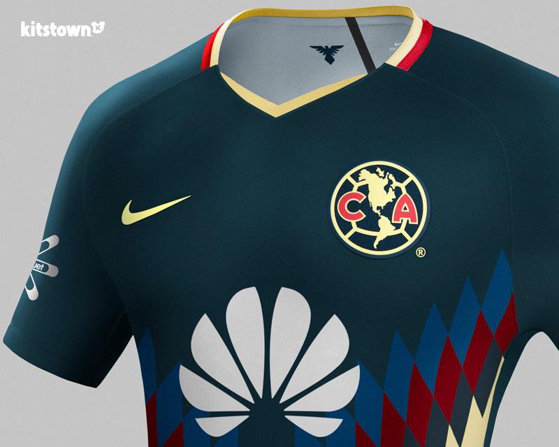 墨西哥美洲2017-18赛季主场球衣 © kitstown.com 球衫堂