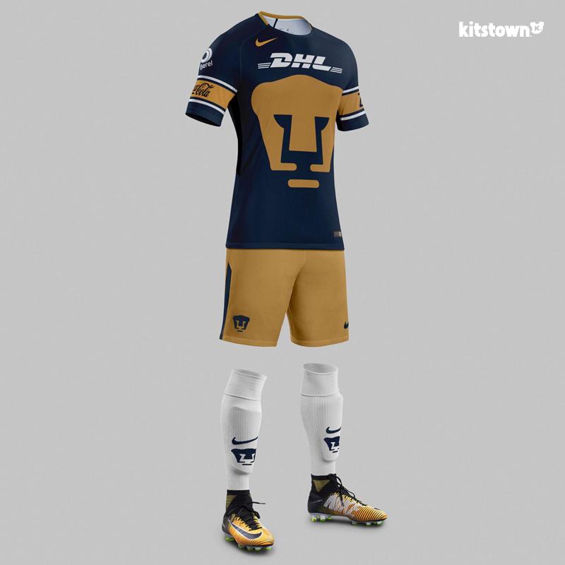 国立自治大学美洲狮2017-18赛季主客场球衣 © kitstown.com 球衫堂
