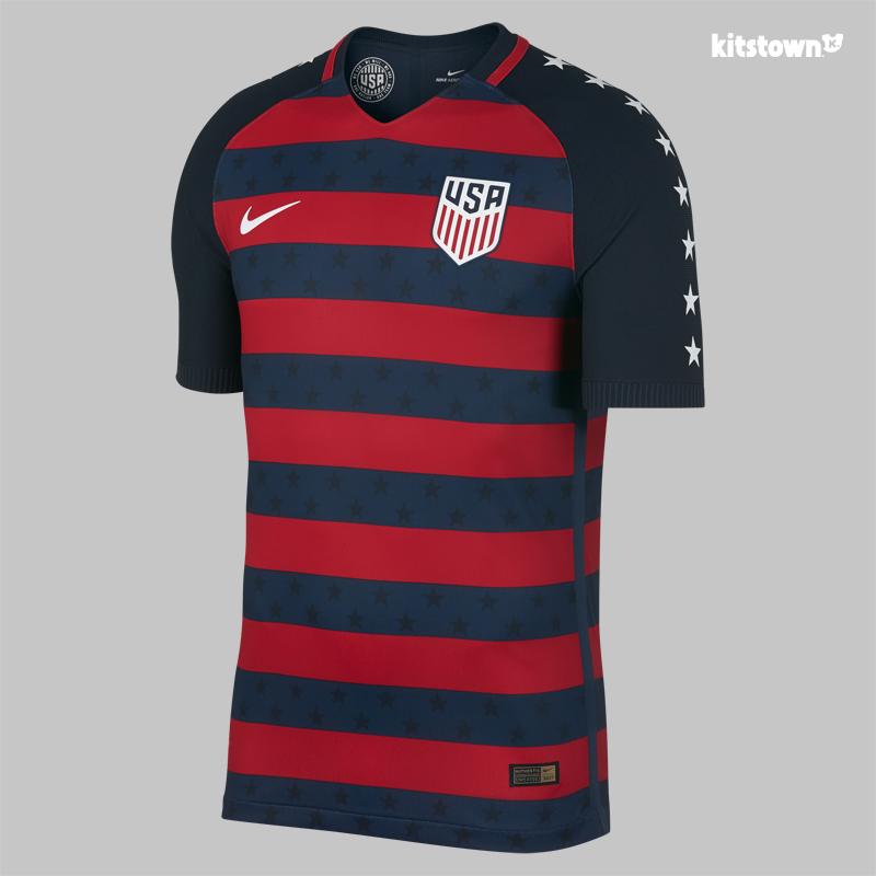 美国国家队2017金杯赛特别球衣 © kitstown.com 球衫堂