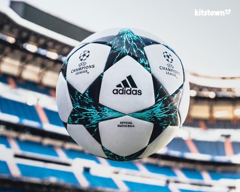 2017-18赛季欧冠联赛小组赛官方比赛用球 © kitstown.com 球衫堂