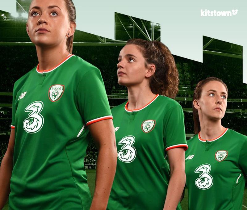 爱尔兰国家队2017-18赛季主场球衣 © kitstown.com 球衫堂
