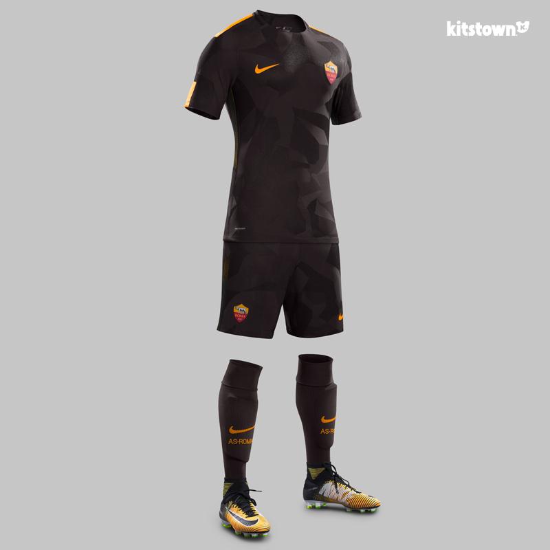 罗马2017-18赛季第二客场球衣 © kitstown.com 球衫堂
