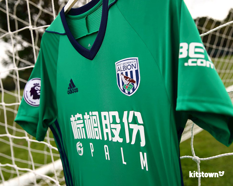 西布罗姆维奇2017-18赛季第二客场球衣 © kitstown.com 球衫堂
