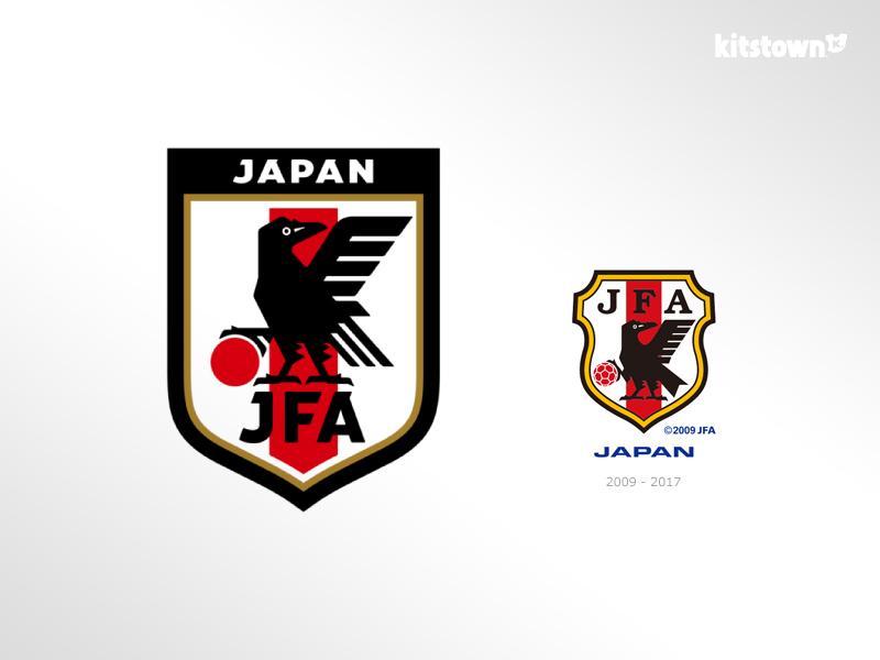 日本足协及国家队推出全新品牌标识  © kitstown.com 球衫堂