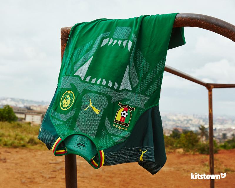 喀麦隆国家队2018赛季主场球衣 © kitstown.com 球衫堂