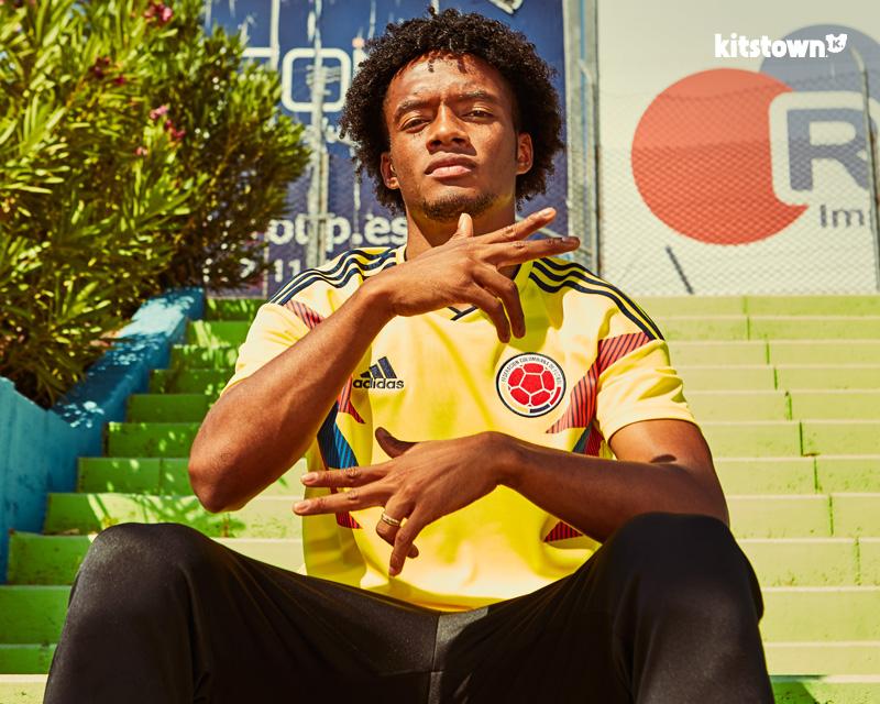 哥伦比亚国家队2018世界杯主场球衣 © kitstown.com 球衫堂