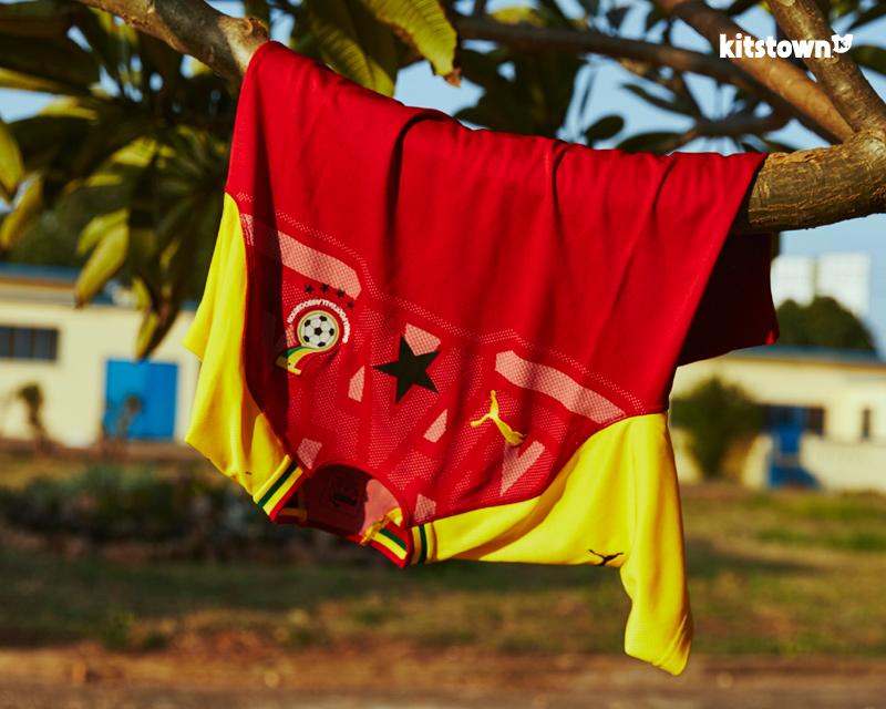 加纳国家队2018赛季主场球衣 © kitstown.com 球衫堂