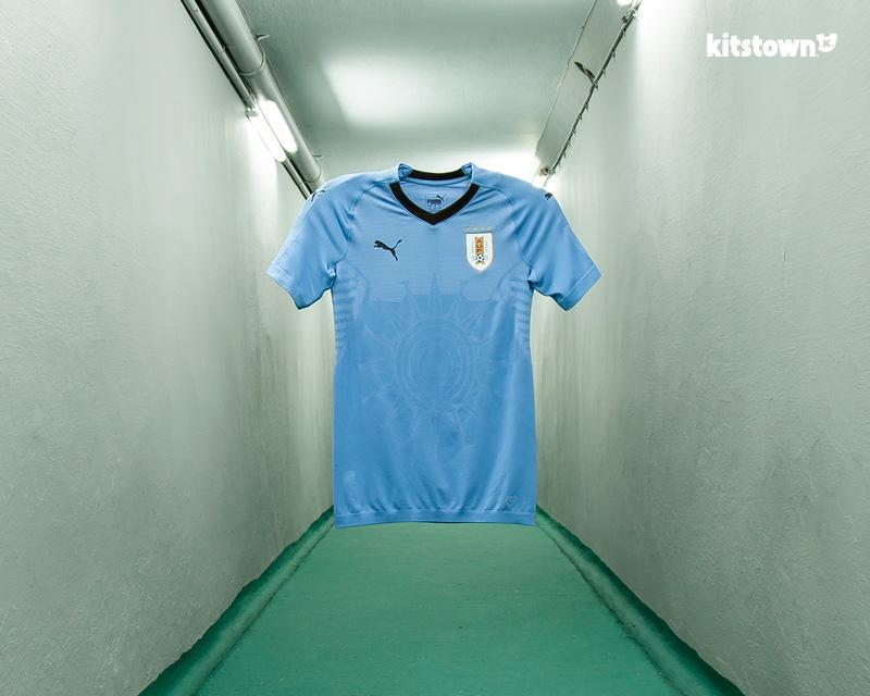 乌拉圭国家队2018世界杯主场球衣 © kitstown.com 球衫堂