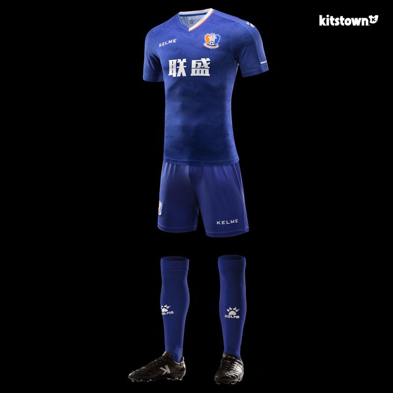 江西联盛2018赛季主客场球衣 © kitstown.com 球衫堂