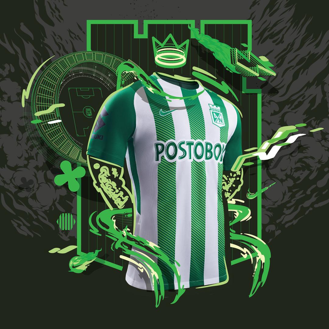 国民竞技2018赛季主客场球衣 © kitstown.com 球衫堂