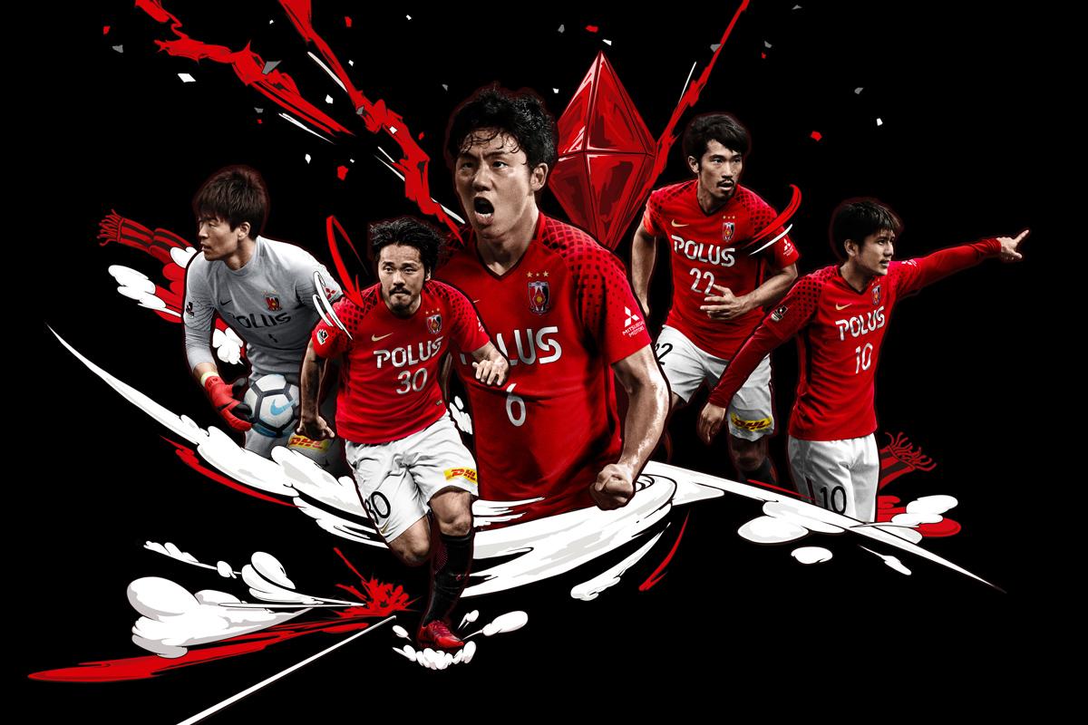 浦和红钻2018赛季主客场球衣 © kitstown.com 球衫堂