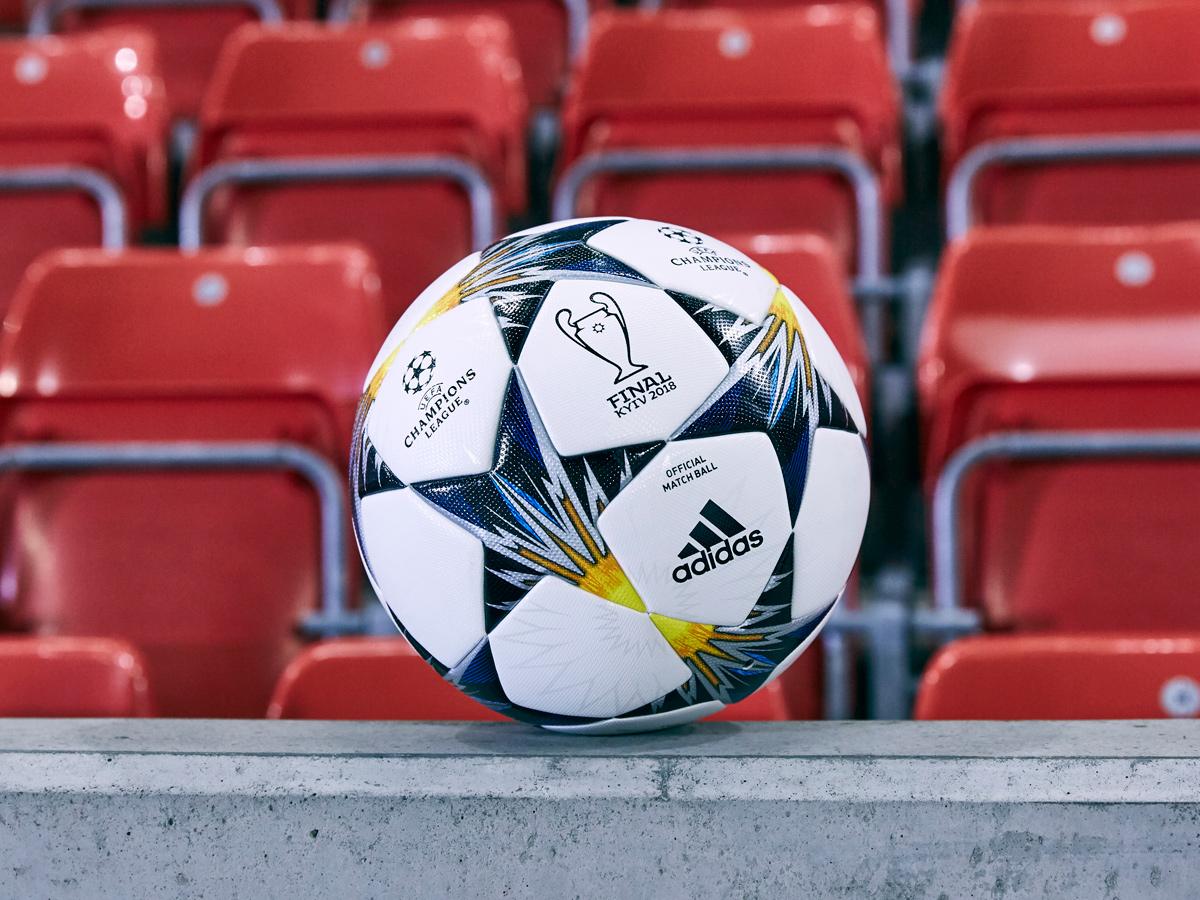 决战基辅—2018欧冠联赛淘汰赛阶段官方比赛用球 © kitstown.com 球衫堂