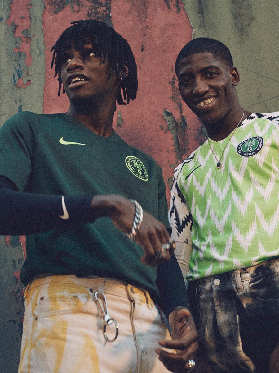 尼日利亚国家队2018世界杯主客场球衣 © kitstown.com 球衫堂