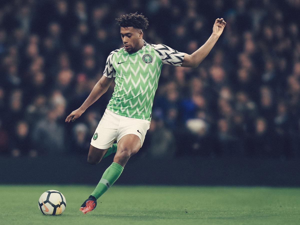 2018世界杯尼日利亚队球衣:主客场球衣谍照