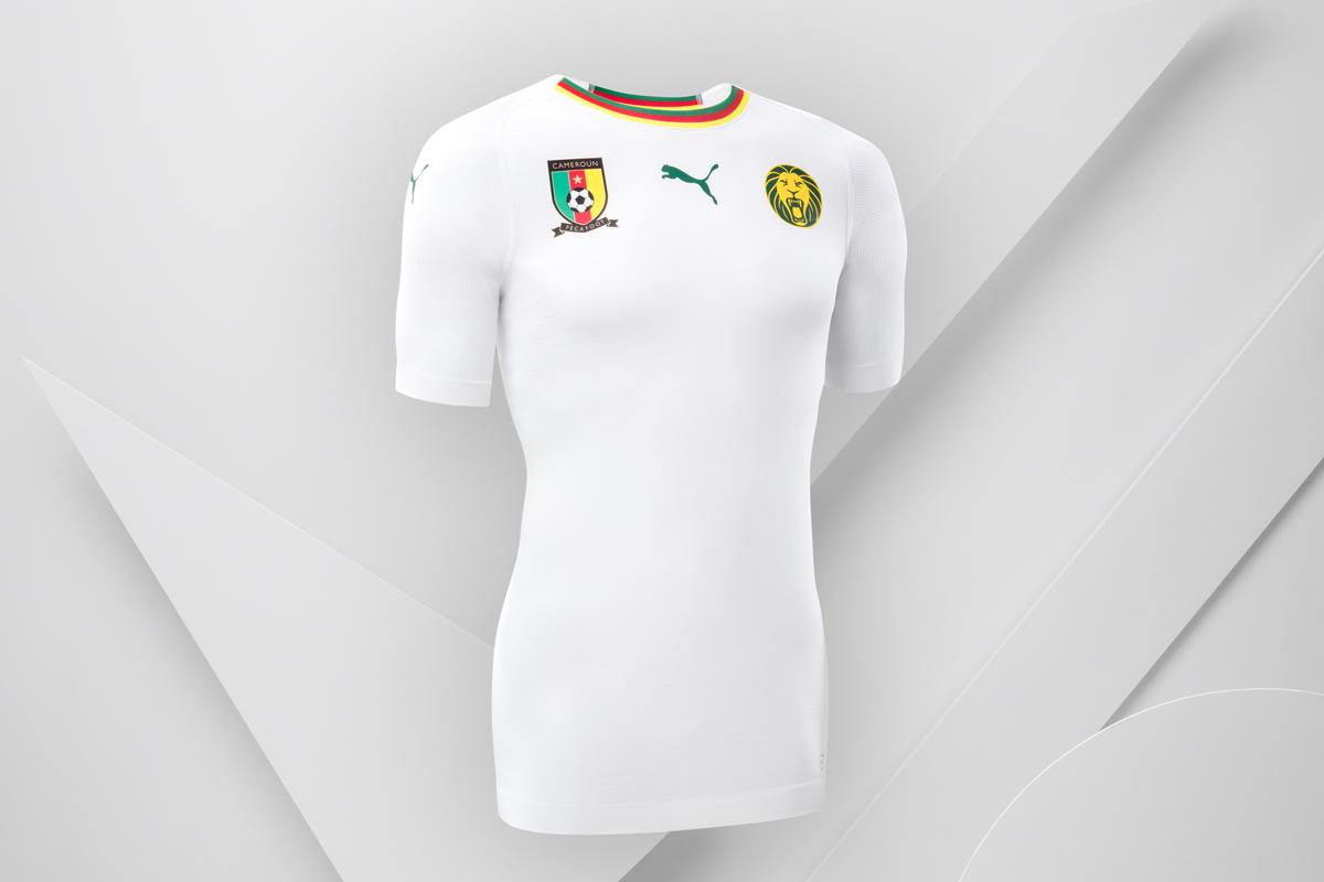 喀麦隆国家队2018赛季客场球衣 © kitstown.com 球衫堂