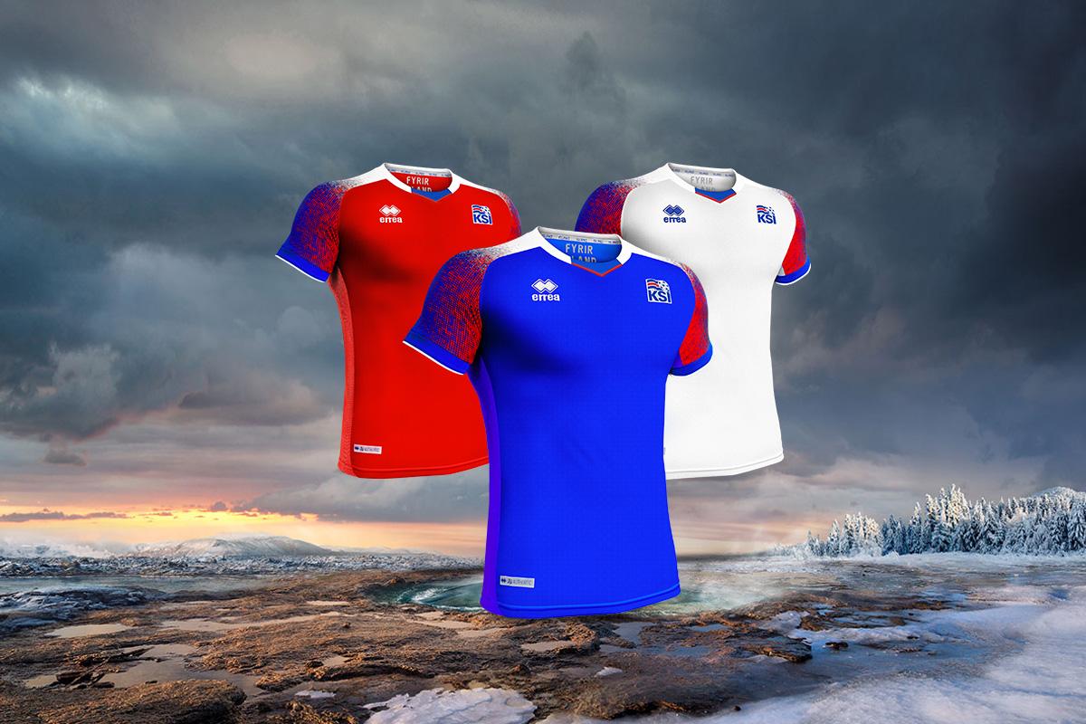 冰岛国家队2018世界杯主客场球衣 © kitstown.com 球衫堂