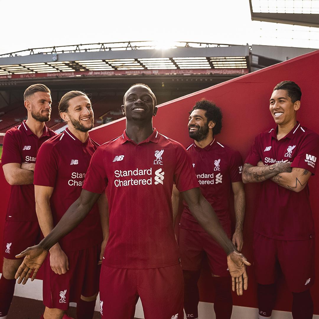 利物浦2018-19赛季主场球衣 © kitstown.com 球衫堂