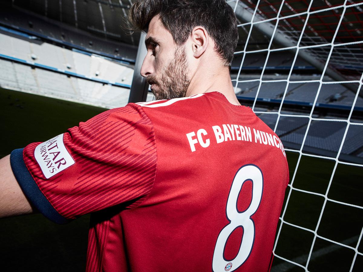 拜仁慕尼黑2018-19赛季主场球衣 © kitstown.com 球衫堂