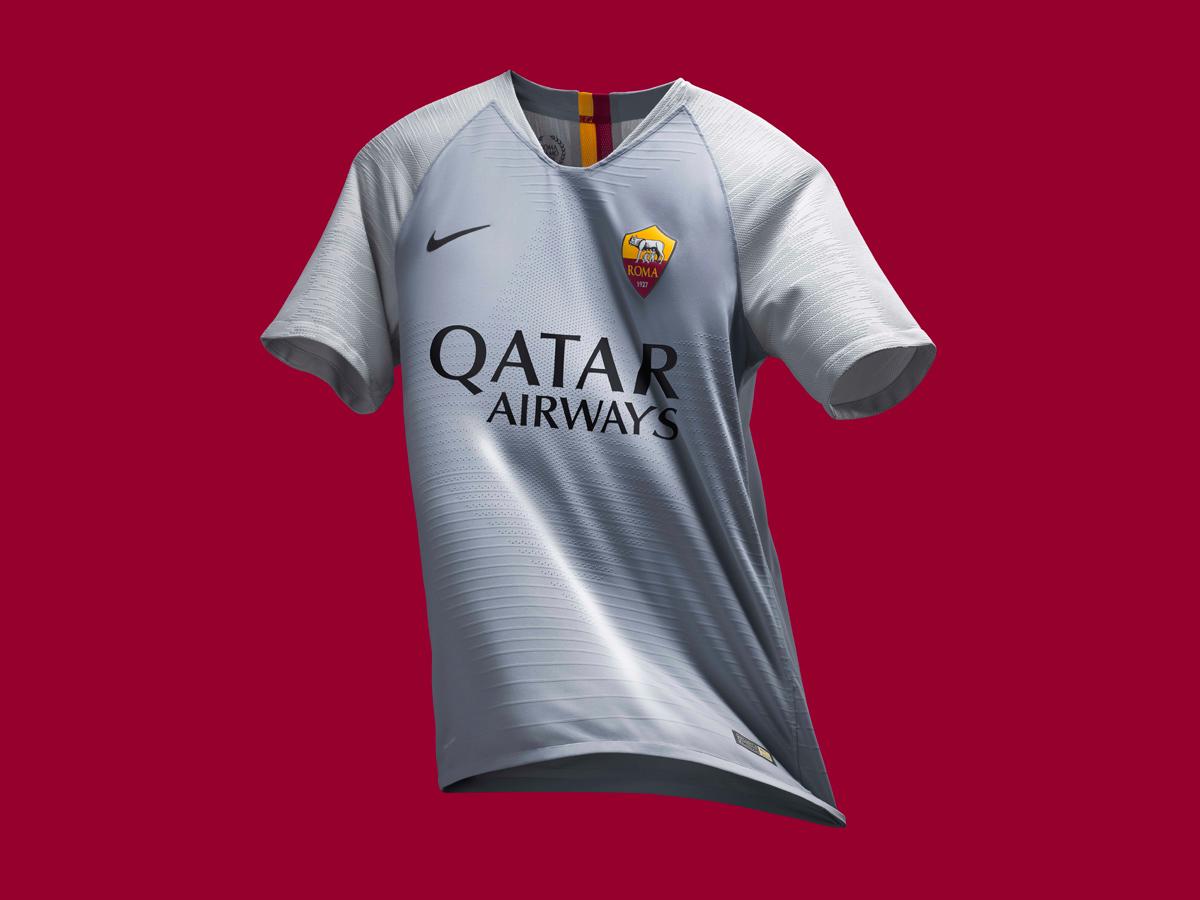 罗马2018-19赛季客场球衣 © kitstown.com 球衫堂