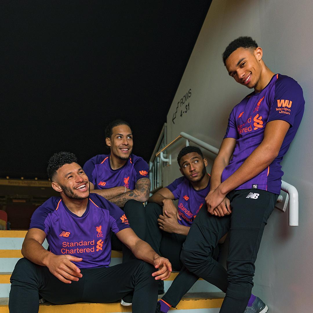 利物浦2018-19赛季客场球衣 © kitstown.com 球衫堂