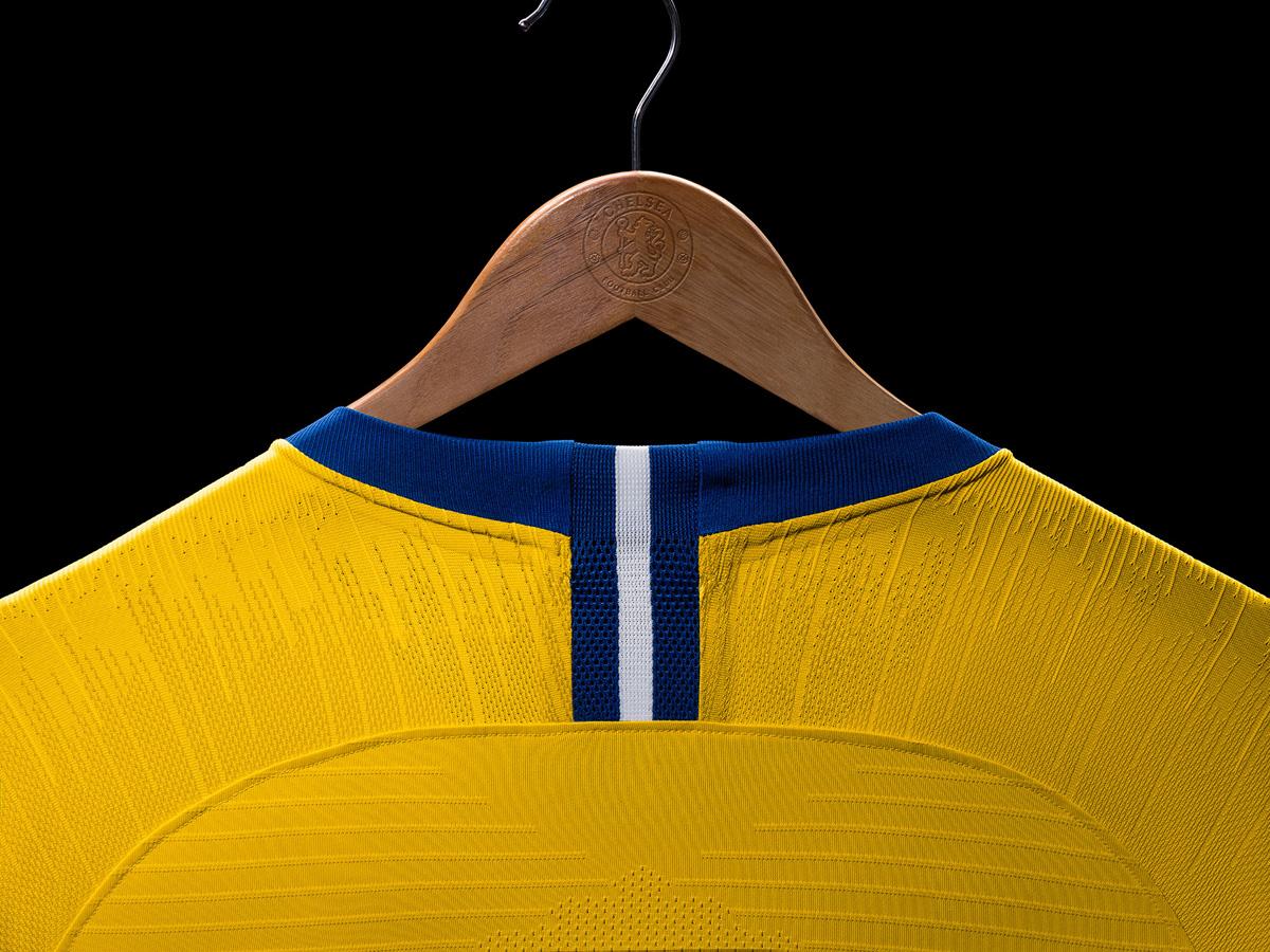 切尔西2018-19赛季客场球衣 © kitstown.com 球衫堂