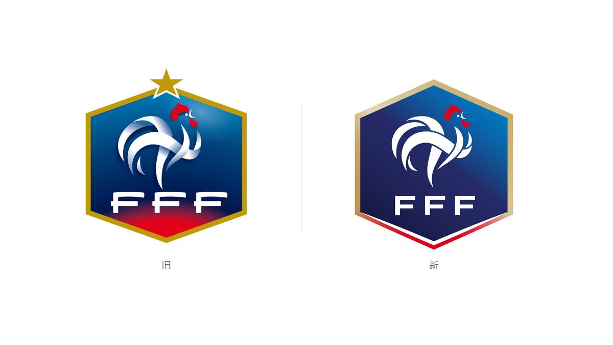 法国足协推出全新标识 © kitstown.com 球衫堂