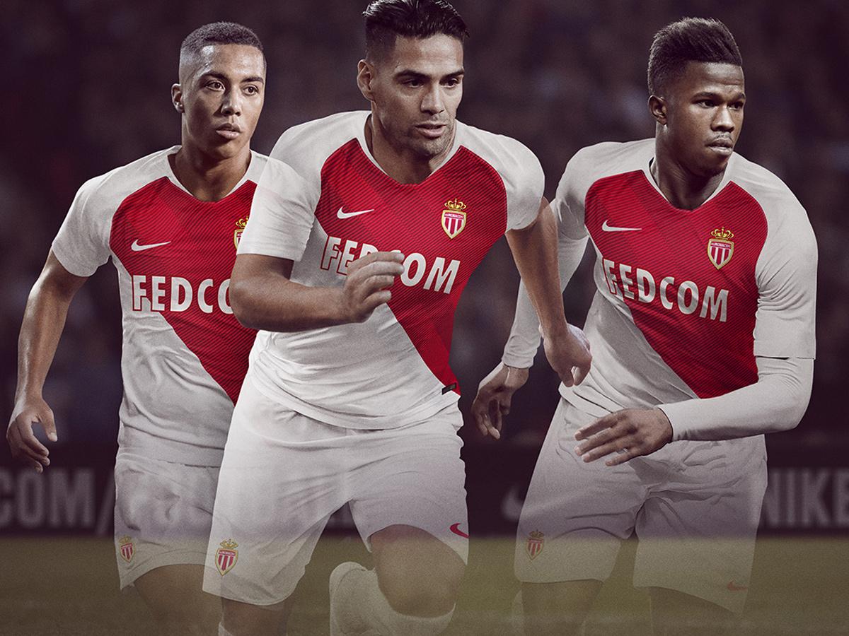 摩纳哥2018-19赛季主场球衣 © kitstown.com 球衫堂