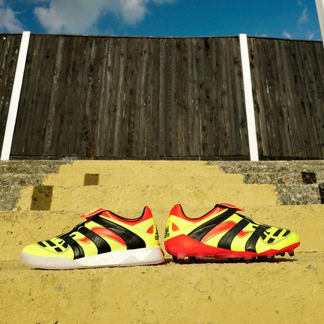 阿迪达斯发布Predator Accelerator Electricity战靴 © kitstown.com 球衫堂
