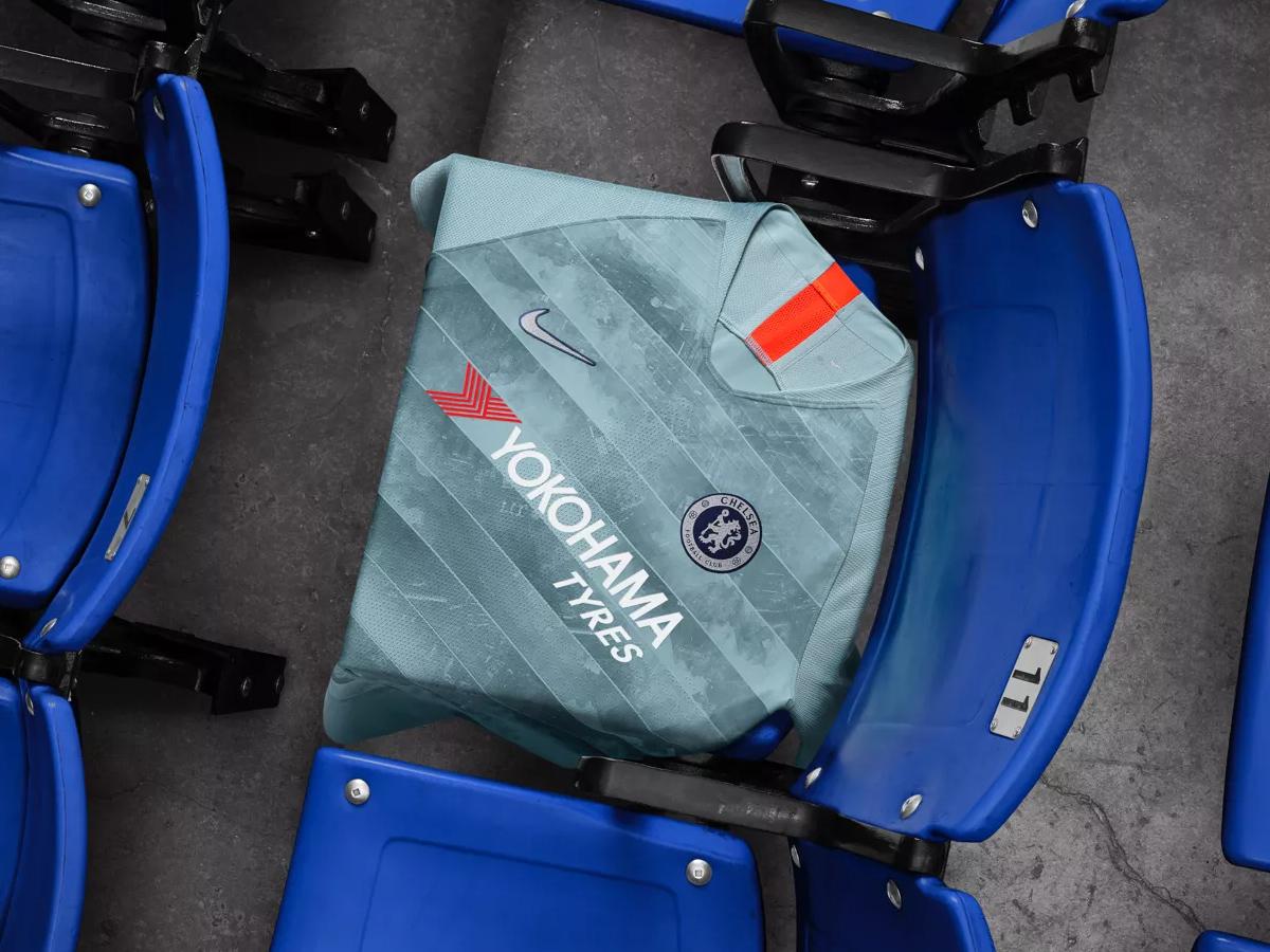 切尔西2018-19赛季第二客场球衣 © kitstown.com 球衫堂