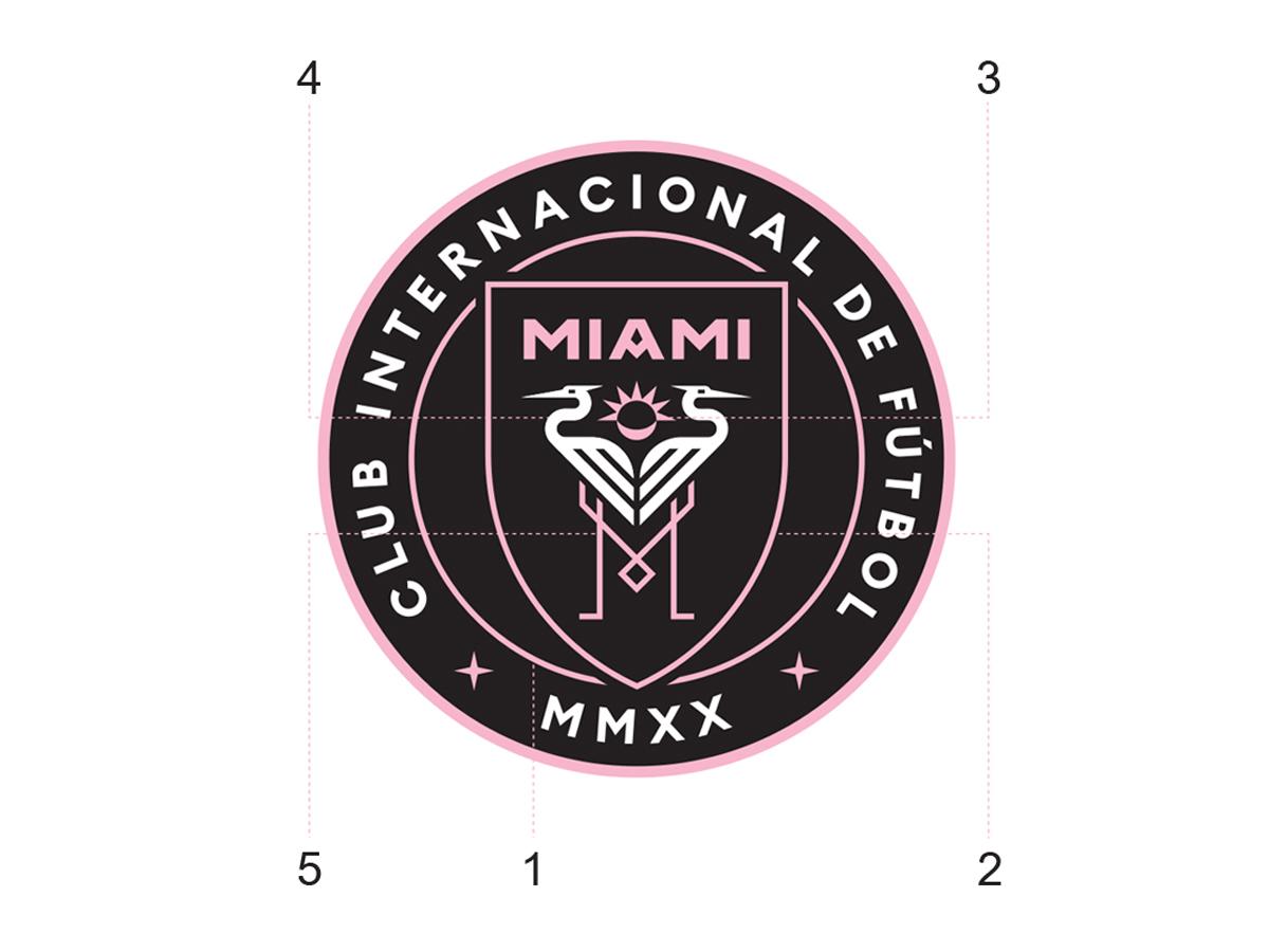 迈阿密国际—大联盟新军公布官方名称及徽章 © kitstown.com 球衫堂