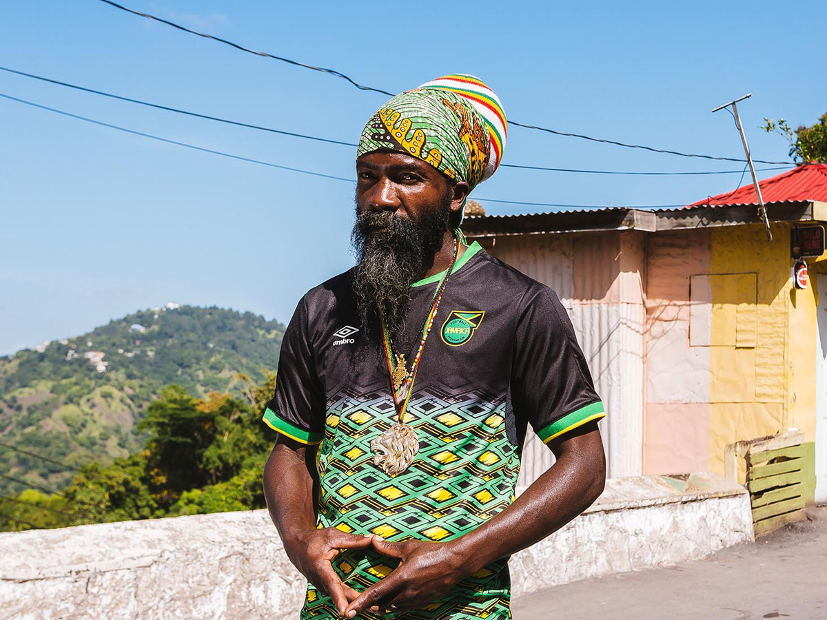 牙买加国家队2018-19赛季主客场球衣 © kitstown.com 球衫堂