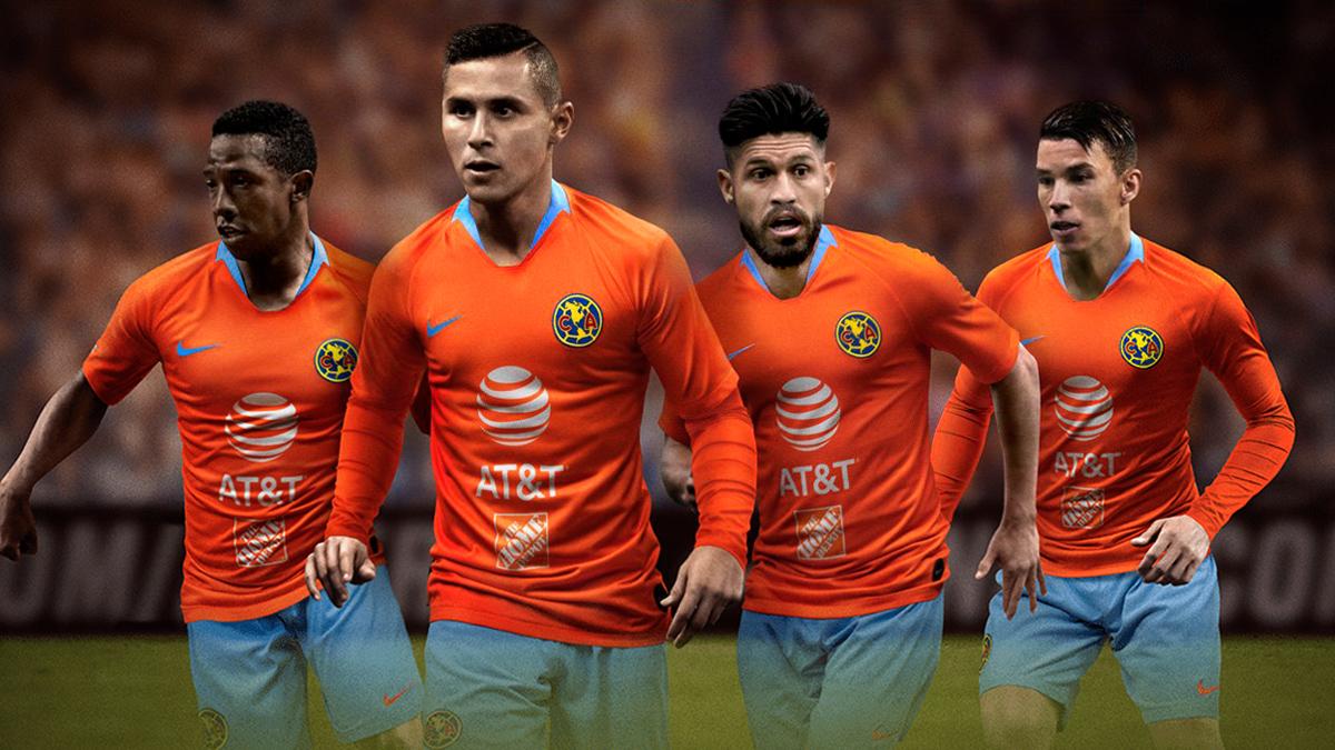 墨西哥美洲2018-19赛季第二客场球衣 © 球衫堂 kitstown