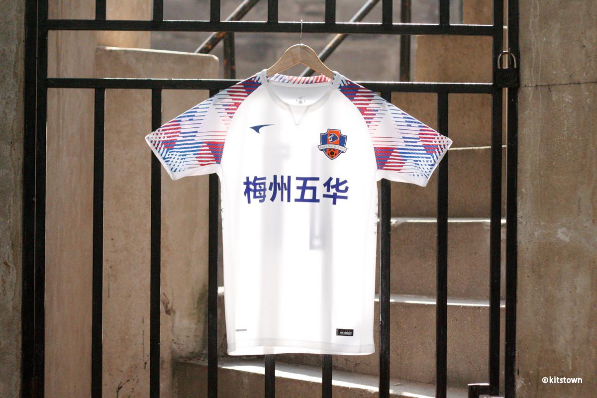 梅州客家2019赛季主客场球衣 © 球衫堂 kitstown