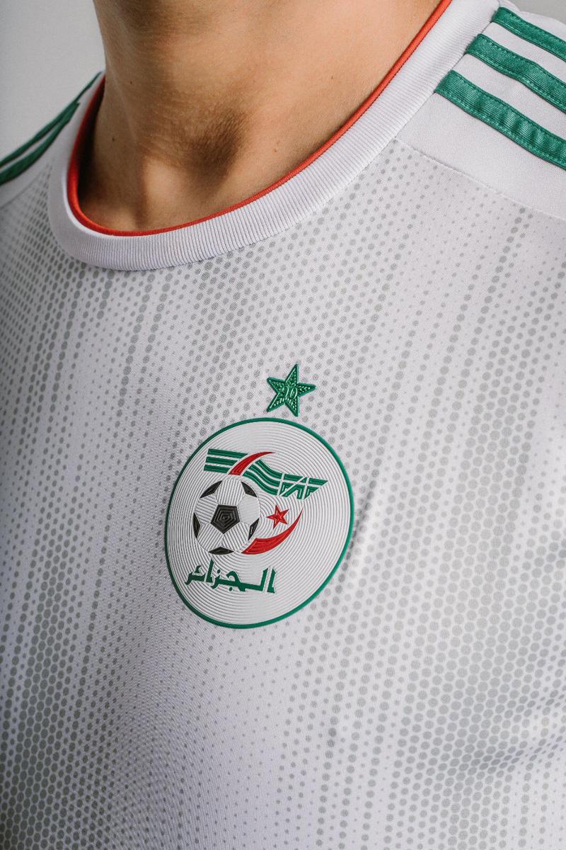阿尔及利亚国家队2019非洲杯主客场球衣 © 球衫堂 kitstown