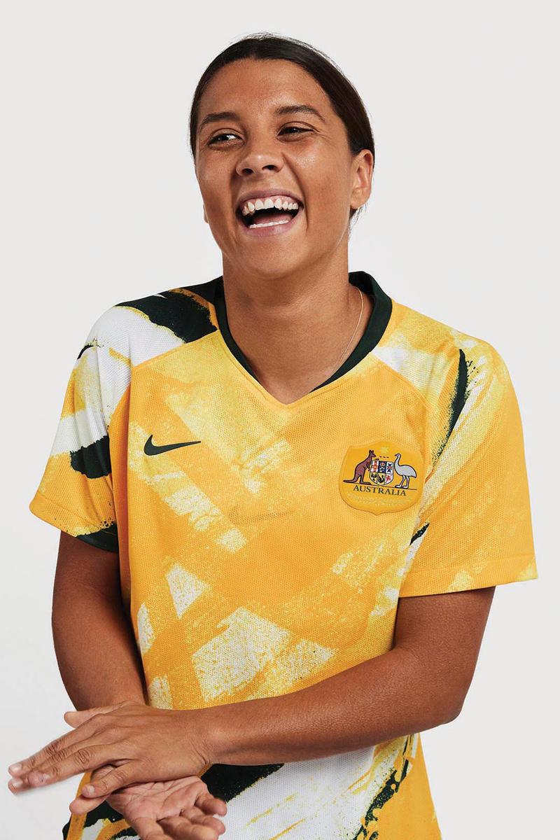 澳大利亚女足国家队2019世界杯主客场球衣 © 球衫堂 kitstown