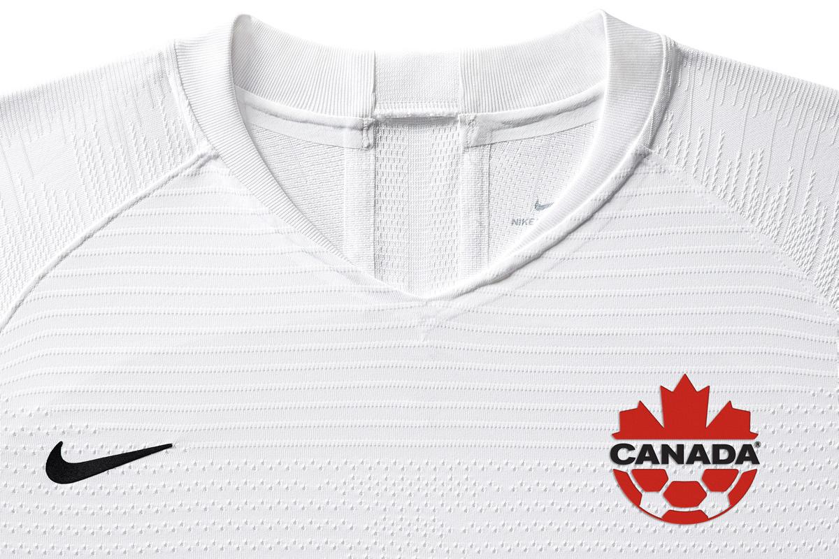 加拿大女足国家队2019世界杯主客场球衣 © 球衫堂 kitstown
